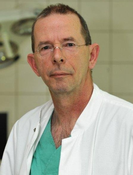 Dr. Wolfgang Renschler, Chefarzt der Klinik für Unfallchirurgie und Orthopädie