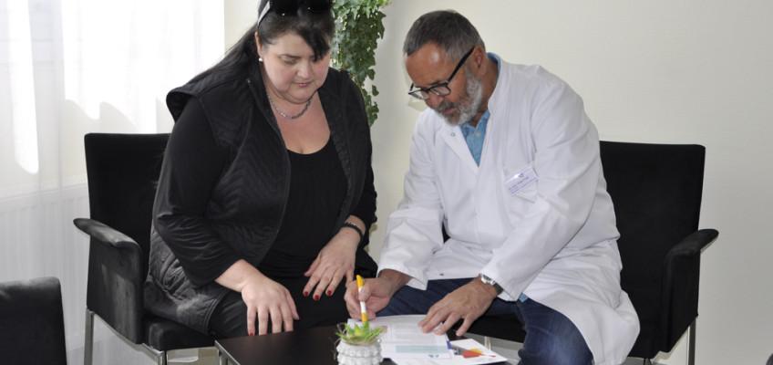 Adipositas-Sprechstunde und Selbsthilfe für Menschen mit krankhaften Übergewicht