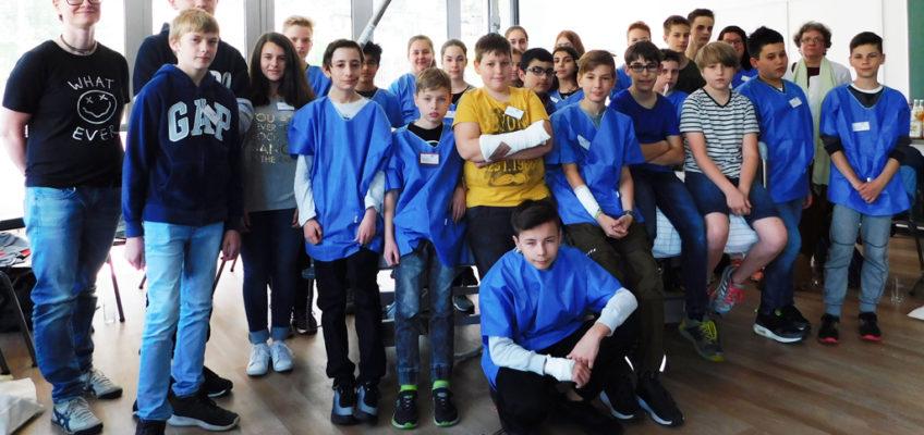 Kreiskliniken Darmstadt-Dieburg beteiligten sich am Girls & Boys Day 2018