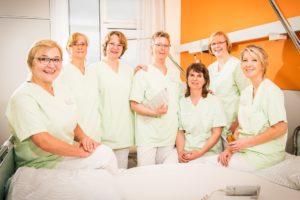 Grüne Damen und Herren Kreiskliniken Darmstadt Dieburg