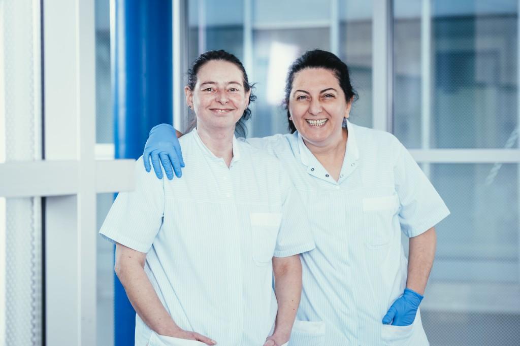 Abbildung Mitarbeiter aus der Pflege, Kreiskliniken Darmstadt-Dieburg