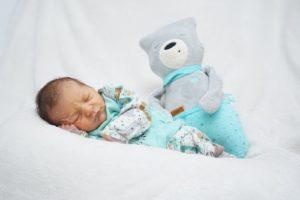 Erstes Baby im Neujahr in der Geburtsklinik Klinik Darmstadt-Dieburg